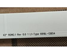 "LG LED LAMP STRIP 6916L-1385A original 42"" ROW2.1 rev 0.0 1 L1-Type 42LN5400-UA"